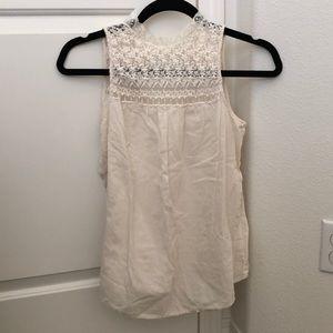 Zara ivory blouse